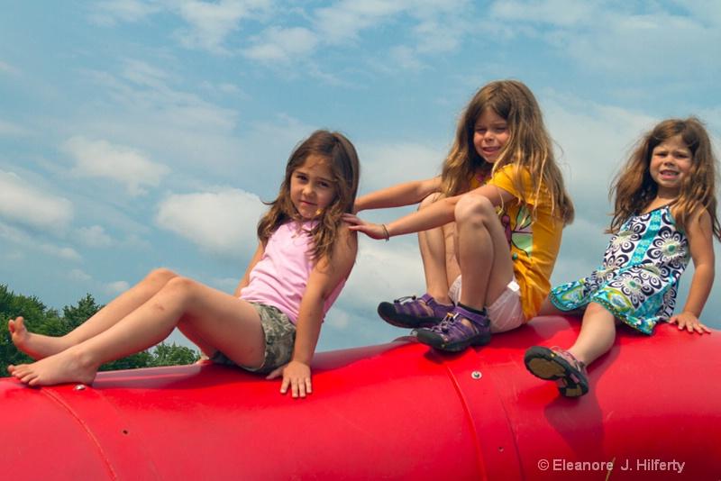 Girls at the playground - ID: 12052398 © Eleanore J. Hilferty