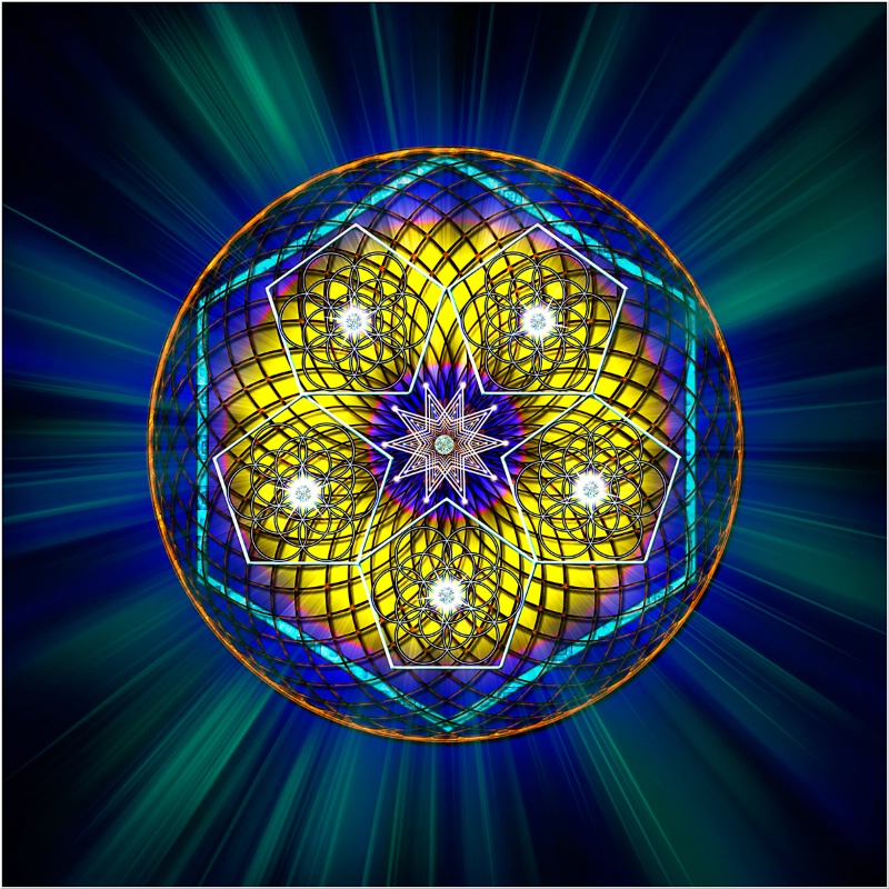 Sacred Geometry 6 - ID: 12093046 © Endre Balogh