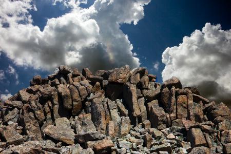Sky Versus Mountains