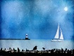 ~ Sailboat at Twi...