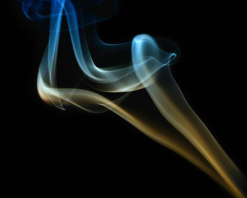 Smokey Blue Gold