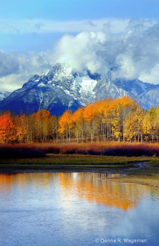 Grand Teton - Mt. Moran - today October 10, 2011