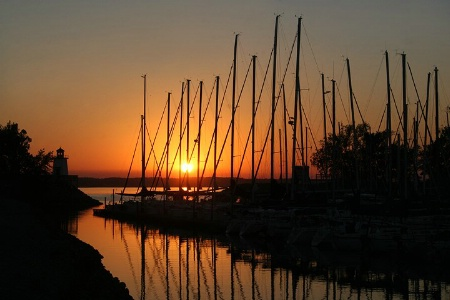 Grand Rivers Golden Sunset