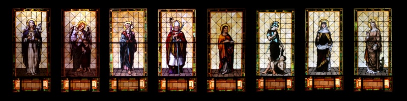 Stain Glass from Christ is King Church