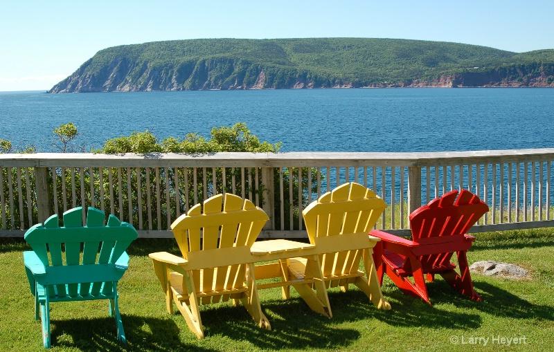 Nova Scotia Chairs - ID: 12457542 © Larry Heyert
