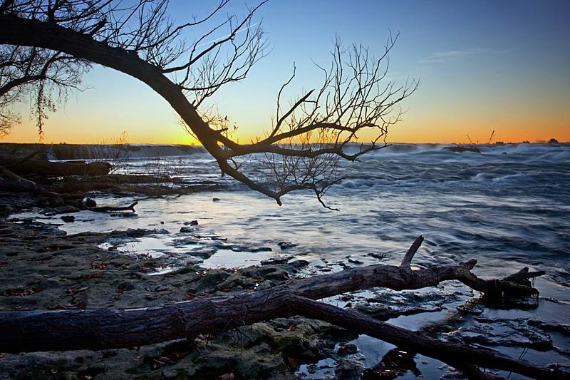 Daybreak on the Rapids