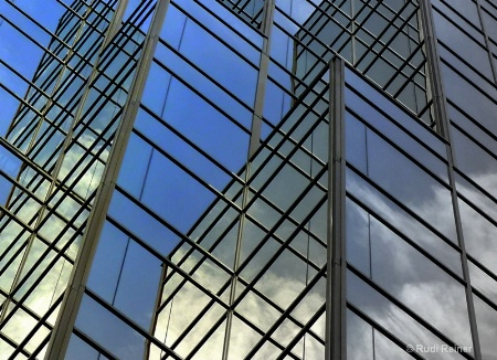Building glass abstract