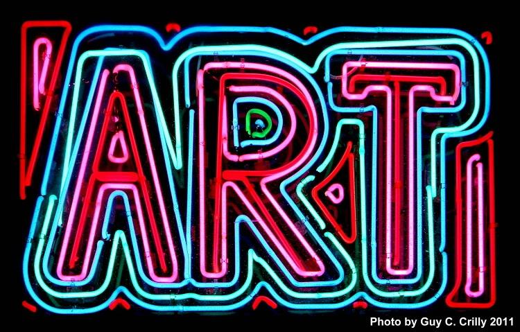 Neon Art Sign