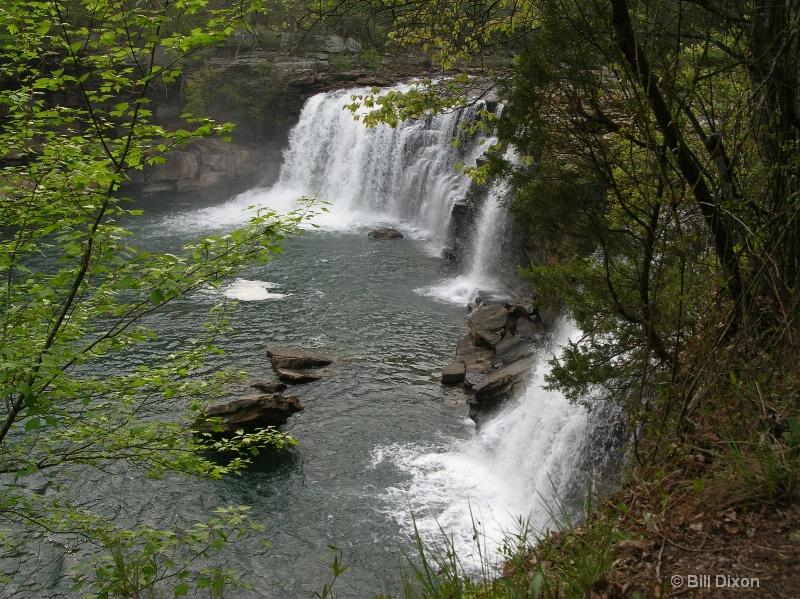 Little River Falls - ID: 12575735 © William E. Dixon