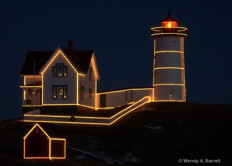 The Nubble for Xmas - ID: 12577481 © Wendy A. Barrett