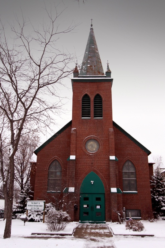 Old Red Brick Church