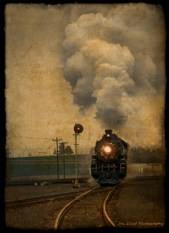 Holiday Steam Train