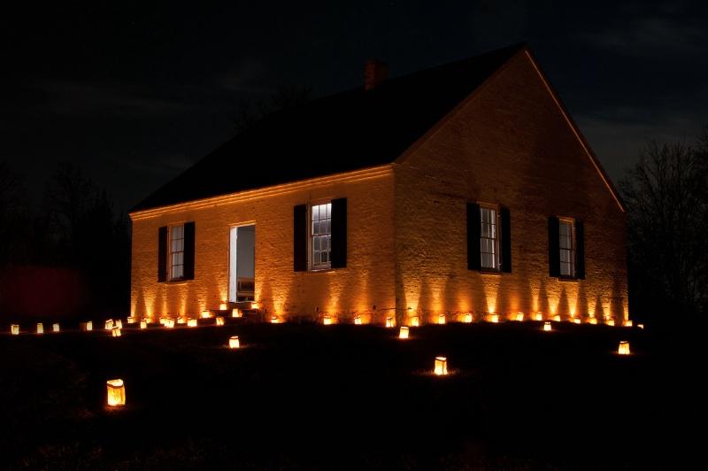 Dunker Church Illumination - ID: 12628593 © Don Johnson