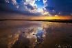 bright reflection
