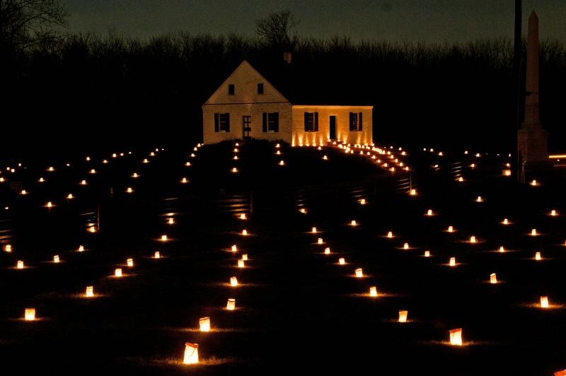 Illumination of Dunker Church - ID: 12648474 © Don Johnson