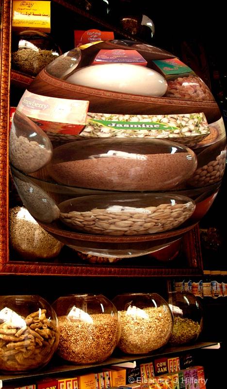 Herb shop in Cairo, Egypt - ID: 12659616 © Eleanore J. Hilferty