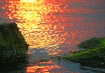 Sunset colors.......