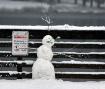 Evil Snowman Warn...