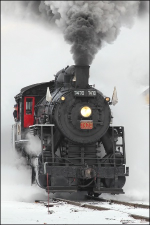 Steam in the Snow #2