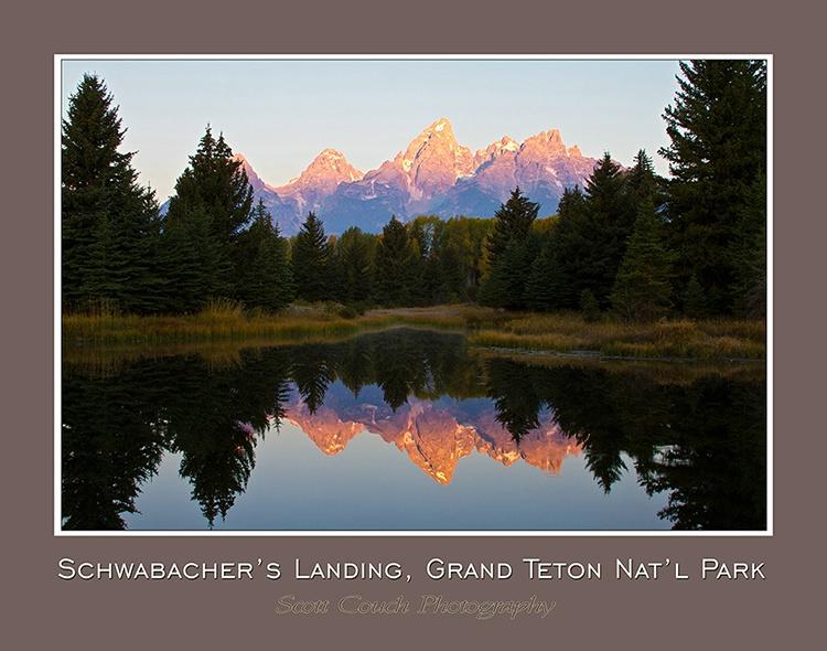 SCHWABACHERS LANDING, GRAND TETON NATIONAL PARK - ID: 12716897 © Michael S. Couch