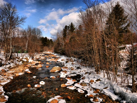 Winter in Northern New Hampshire