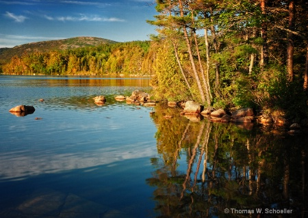Silence is Golden ~ Eagle Lake, Maine