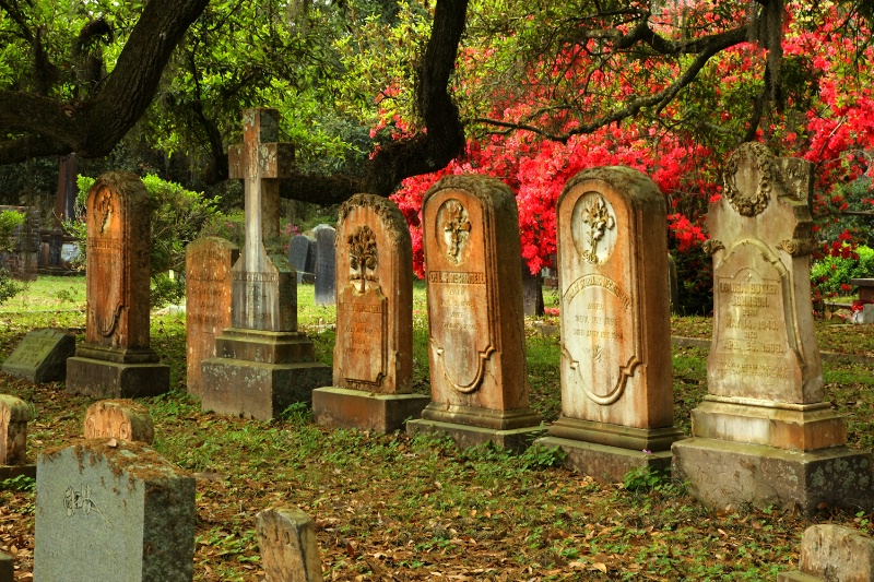Cemetary in Spring - ID: 12789452 © Kenneth A. Wilson