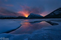 Photography Contest Grand Prize Winner - March 2012: Mount Rundle Sunrise