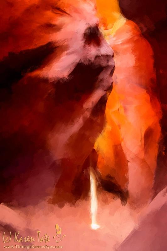 """""""Anna's Beam"""" (Painterly ver.) - ID: 12824340 © Karen Rosenblum"""