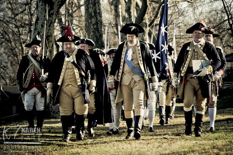 Reenactment of Washington's Crossing - ID: 12828741 © Karen Rosenblum