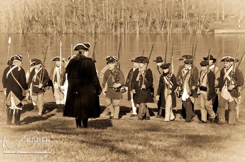 Reenactment of Washington's Crossing - ID: 12828742 © Karen Rosenblum