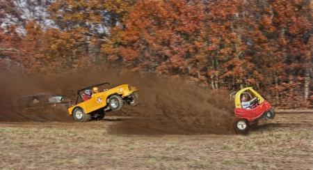 Racing with the big boys