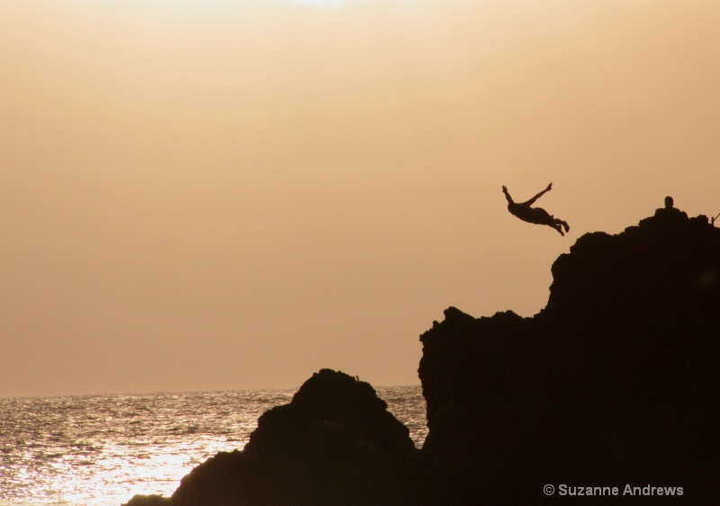 Sunset Dive - ID: 12891598 © Suzanne Andrews