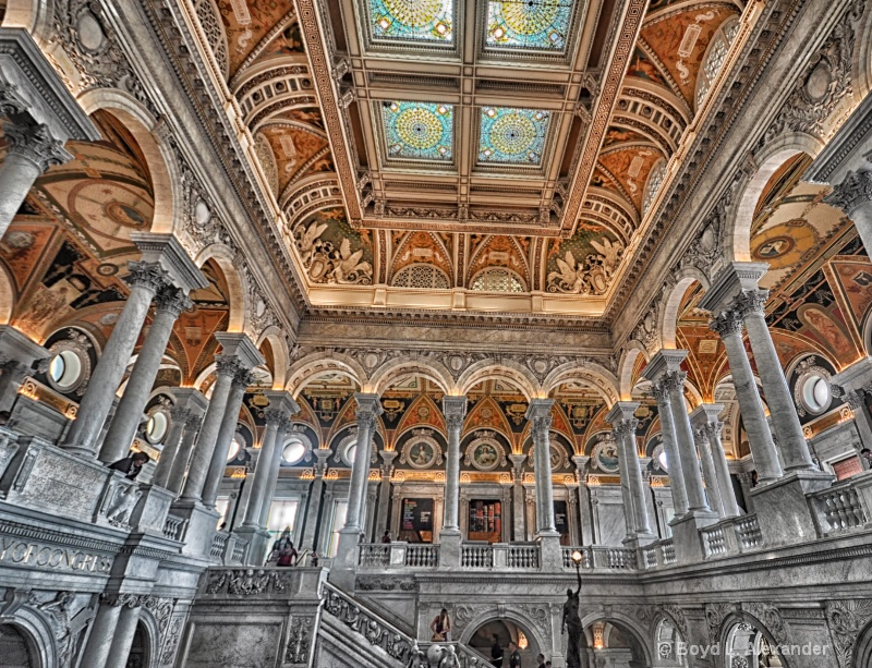 Visiting The Library of Congress