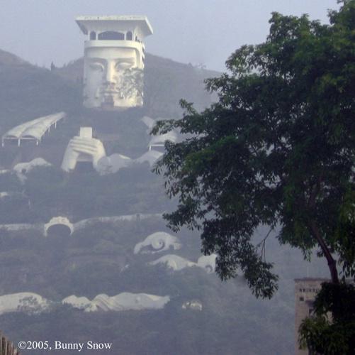 Fengdu City near Chongqing, China