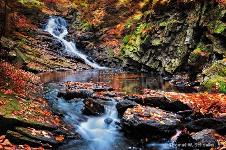 """""""Cascades at Chesterfield Gorge"""""""