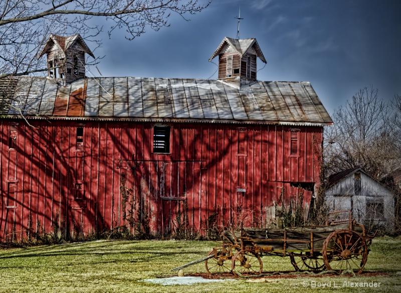 Early Ohio Barn