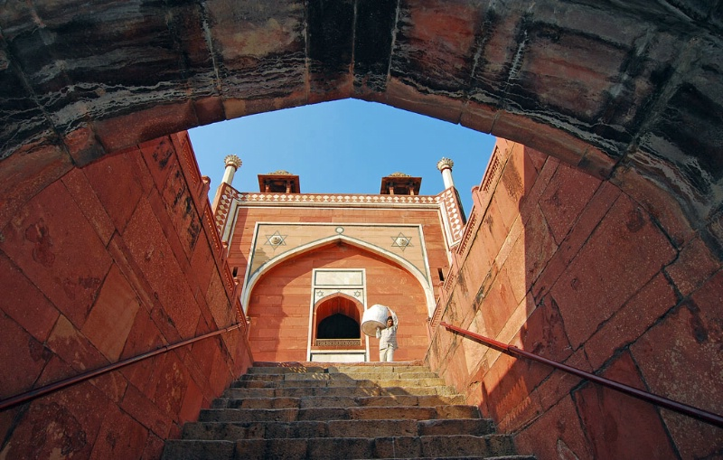 Archway & Steps
