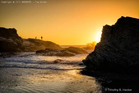 Photographer in Sunset