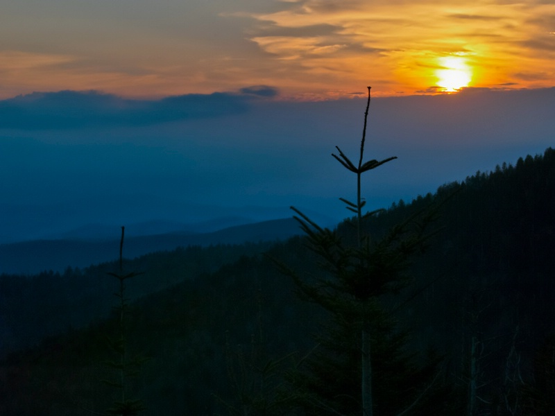 Sunset at Clingmans Dome - ID: 12950364 © Philip B. Ludwig