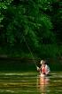 WADE FISHING THE ...