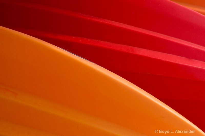 Orange & Red Curves