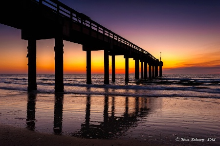 Early Morning at St. Johns County Pier