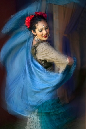 Renaissance Faire Dancer