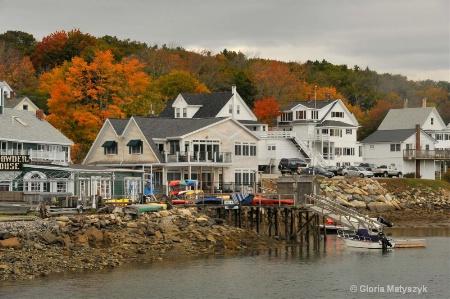 Harbor in Maine