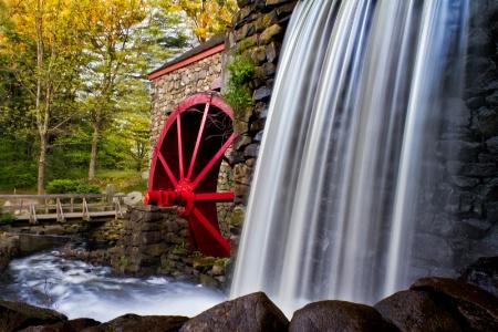 Grist Mill At Sudbury