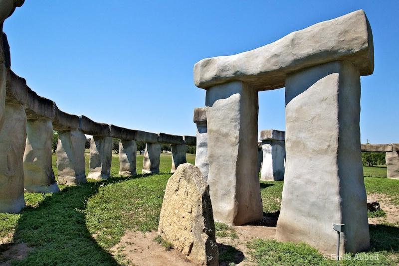 Light and Shadows at Stonehenge II - ID: 13009922 © Emile Abbott