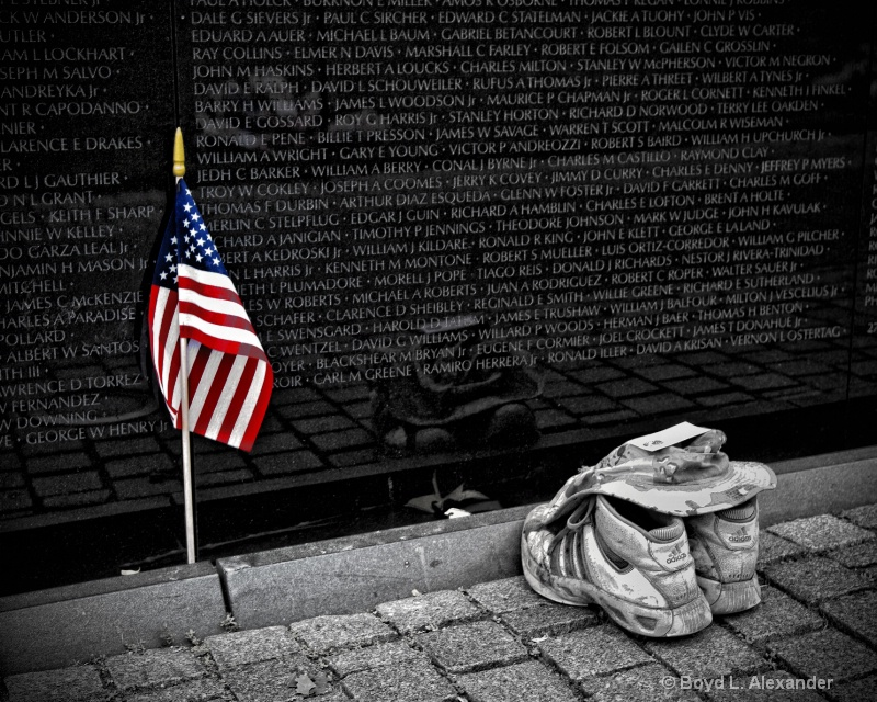 We remember those who gave their lives.....