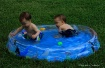 Twins In The Pool