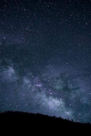 Milky Way in Yunan